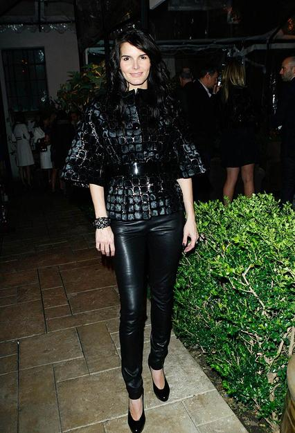 When did Angie Harmon go goth?
