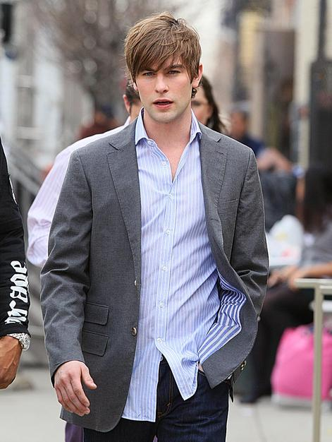 "Zac Efron's loss may be Chace Crawford's gain. The ""Gossip GIrl"" star (seen here on set last weekend) reportedly auditioned for the ""Footloose"" lead after Zac dropped the project."