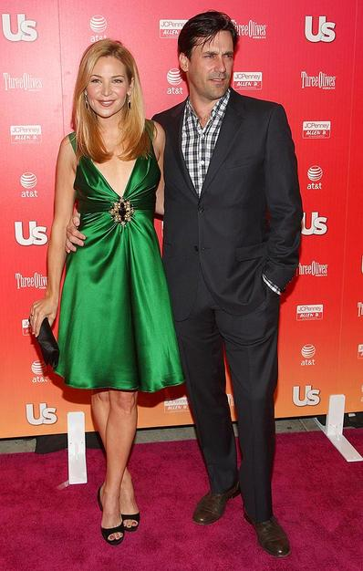 "Jennifer Westfeldt showed up with the hottest accessory of the night, ""Mad Men's"" Jon Hamm."