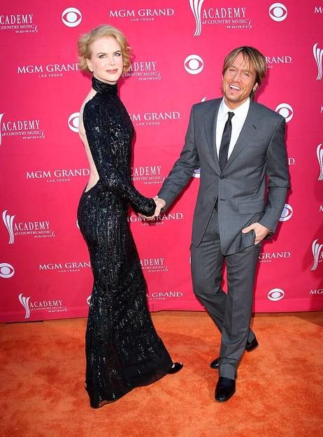 A statuesque Nicole Kidman donned a backless L'Wren Scott gown. The only accessory needed? Her handsome husband, Keith Urban.