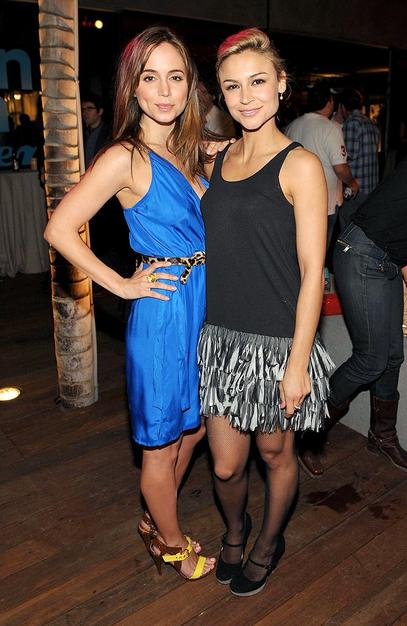 """Samaire Armstrong (""""Dirty Sexy Money"""") and  Eliza Dushku's (""""Dollhouse"""") looked nice!"""
