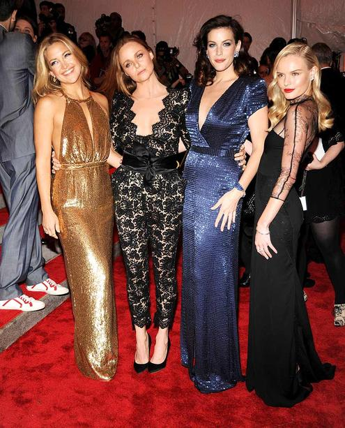 Kate Hudson, Liv Tyler, and Kate Bosworth lit up the red carpet in gowns designed by Stella McCartney.