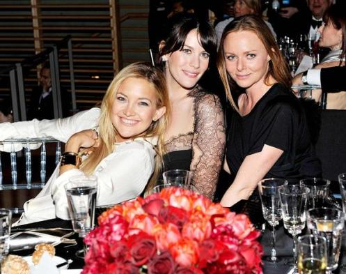 Kate Hudson, Liv Tyler, and Stella McCartney are inseparable! The trio were also spotted together at the Met Gala the night before.