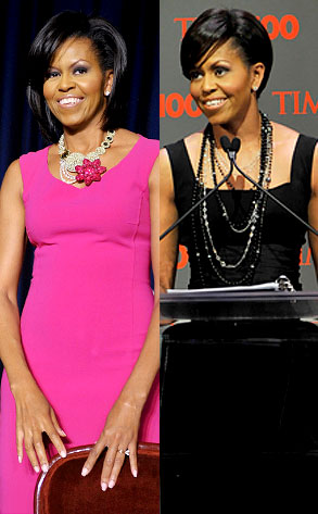 Michelle Obama on Michael Kors Designer Dresses