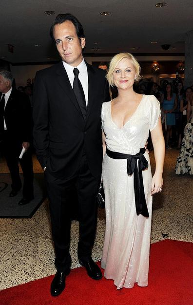 Comedic couple Will Arnett and Amy Poehler got all glammed up for the event.