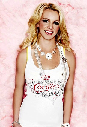 Britney Spears' ad for Candies. Awesome stuff.