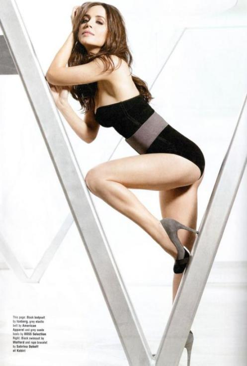 Eliza Dushku in one of a series of hot pictures in FHM. That magazine really comes through every now and then.