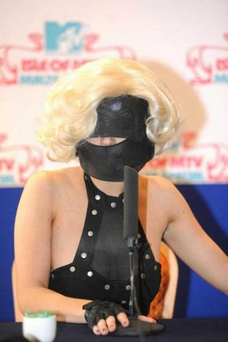ady Gaga is awesome. Who else would give us so much material each and every day simply with the crazy stuff she wears?