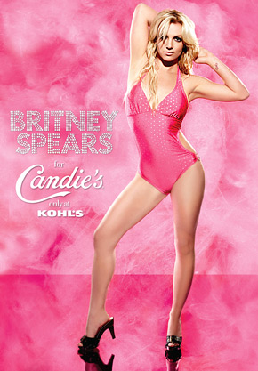 Britney Spears is so fly. Whatever that means. Here she is in an ad for Candies. Whatever that is.