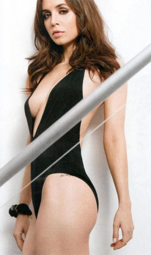 This is a hot picture of Eliza Dushku, who is featured in the new issue of FHM. We are confident stating that as fact. Who can object?!